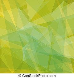 abstratos, triângulos, fundo
