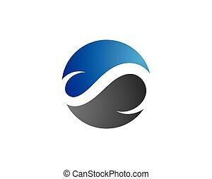 abstratos, unidade, vetorial, logotipo