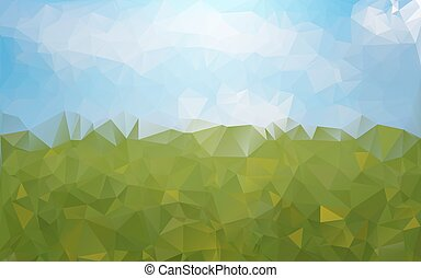 abstratos, verde azul, fundo