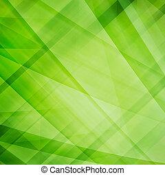 abstratos, verde, fundo