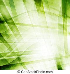 abstratos, verde, fundo, ondas