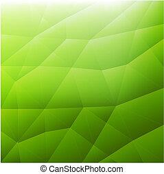 abstratos, verde, modernos, fundo