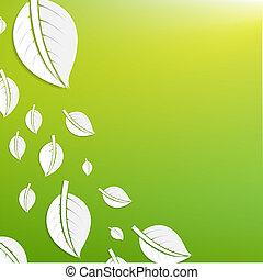 abstratos, verde sai