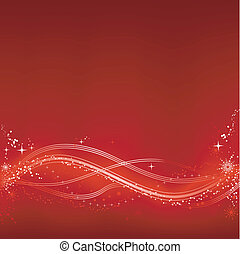 abstratos, vermelho branco, chrismas, fundo