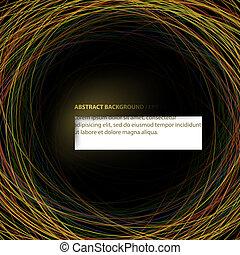 abstratos, vetorial, (eps10), experiência.