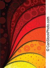 abstratos, vetorial, fundo, ilustração, design.