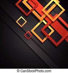 abstratos, vetorial, incorporado, fundo