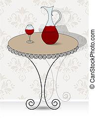 abstratos, vinho