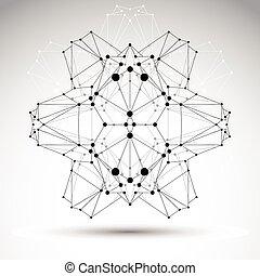 abstratos, wireframe, objeto, polygonal, vetorial, origami, geomã©´ricas, 3d