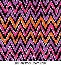 abstratos, ziguezague, padrão