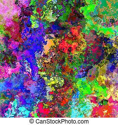 absztrakt festészet, mód, háttér