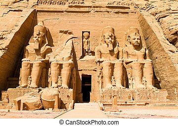 abu, египет, simbel, felstempel