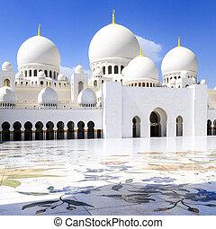 White Mosque - Abu Dhabi Sheikh Zayed White Mosque