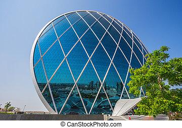 The Aldar headquarters building
