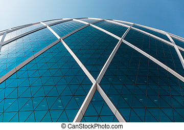The Aldar headquarters building is the first circular building o