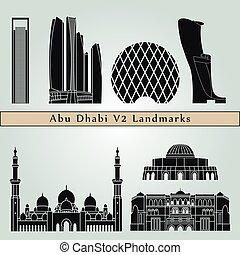 Abu Dhabi V2 Landmarks