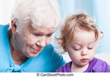 abuela, nieto