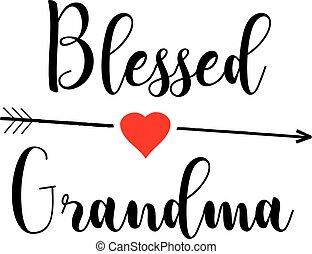 abuelita, bendito
