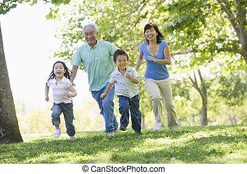 abuelos, corriente, grandchildren.