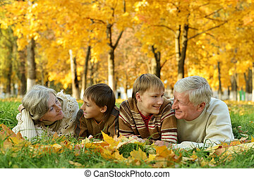 abuelos, nietos