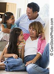 abuelos, nietos, hablar