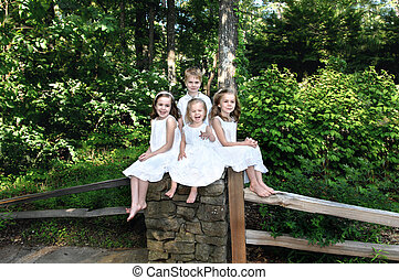 Abundance of Joy - Smallest child in this family of four has...
