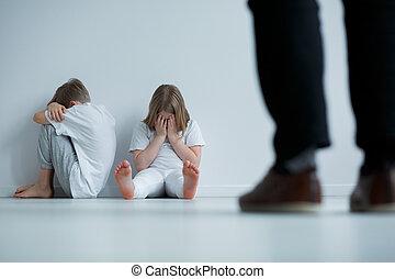 abus, blâmer, dérision, verbal