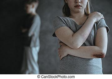 abus, sexuel, victime