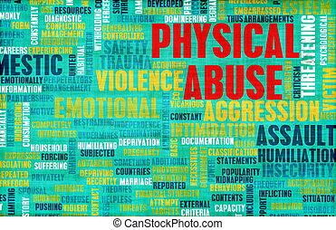 abuso, físico