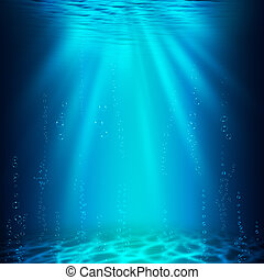 Abyss. Abstract underwater backgrounds for your design