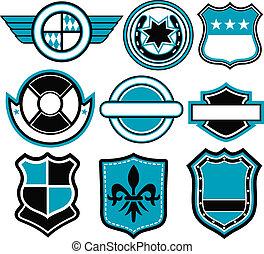 abzeichen, symbol, design
