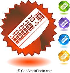 abzeichen, tastatur
