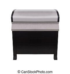 acél, grill, grillsütő, gáz, rozsdamentes