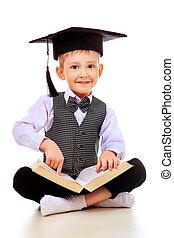 acadêmico, chapéu