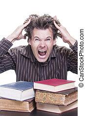 acadêmico, tensão