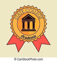 Academic education design.