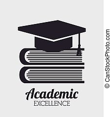 academic excellence design, vector illustration eps10 ...