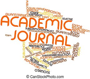 Academic journal - Abstract word cloud for Academic journal...