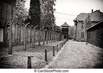 acampamento concentração