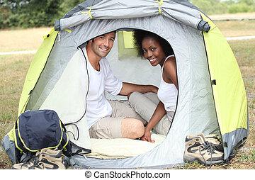 acampamento par