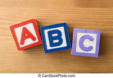 ACB toy block