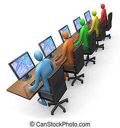 accès, #2, -, business, internet