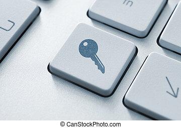 accès, bouton
