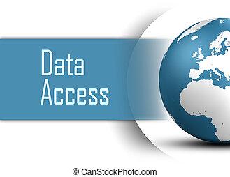 accès, données