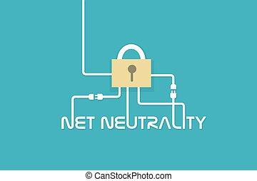 accès, gratuite, internet, filet, neutralité
