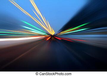 accélération, mouvement, résumé