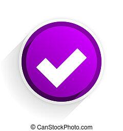 accept flat icon