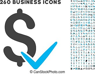 Accept Money Icon with Flat Vector Set - Accept Money icon...