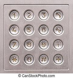 acces, porta, tastiera
