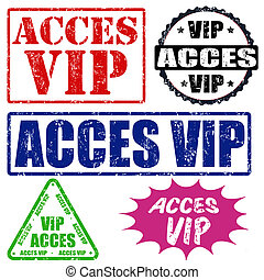 Acces VIP stamps set
